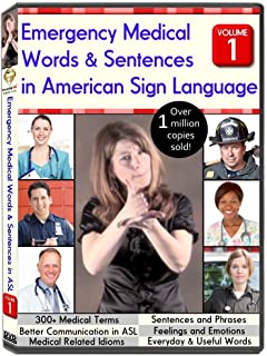 Emergency Medical Words & Sentences in American Sign Language, Volume 1 (2012)