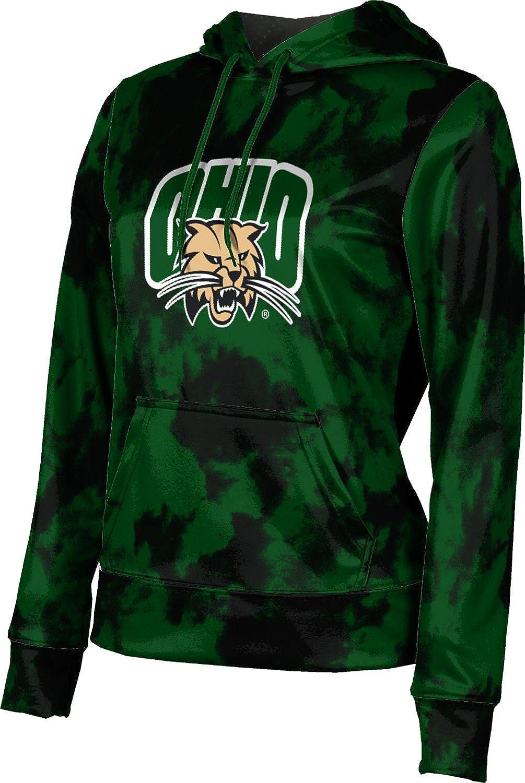 ProSphere Ohio University Girls' Pullover Hoodie, School Spirit Sweatshirt (Grunge)