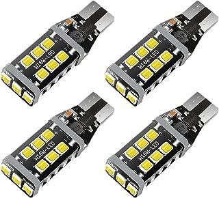 (2019 New Model)921 Led Bulb 4800 Lumens Error Free 921 912 T10 T15 for Backup Reverse Lights, Xenon White, No Hyper Flash(Pack of 4)