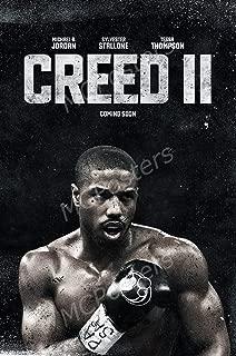 Creed II Movie Poster Photo Print 8x10 11x17 16x20 22x28 24x36 27x40 Rocky