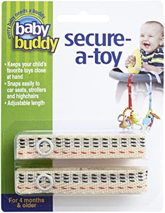 Baby Buddy Secure-A-Toy 2ct 玩具挂件 [対象] 0ヶ月 ~ ステッチ ノバチェック