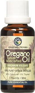 Amazing Herbs Oregano Pure Essential Oil, 1 Fluid Ounce