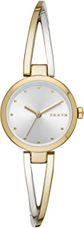 DKNY Women's Quartz Watch analog Display and Stainless Steel Strap, NY2790