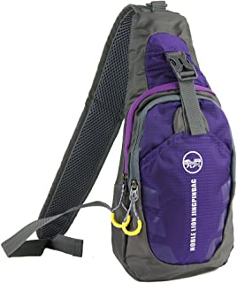 Free Bird 99 Shoulder Sling Chest Bag Running Hiking Cycling One Shoulder Travel Pack Backpack Bag for Men Women (Purple)