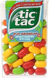 Tic Tac Mints Fruit Adventure Singles 1 Ounce Pack (12 Count Case Pack)