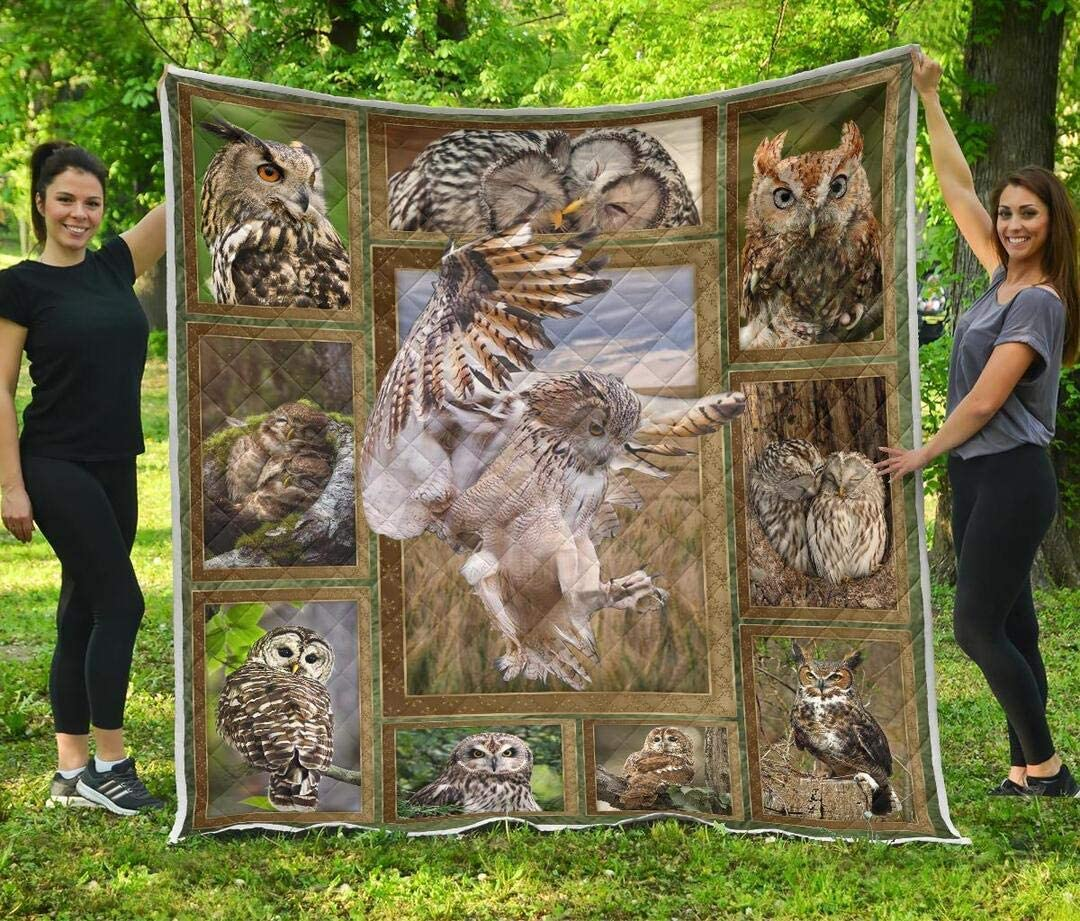 Personalized Owl Quilt - All stores are sold Lovely S to Beautiful Super-cheap