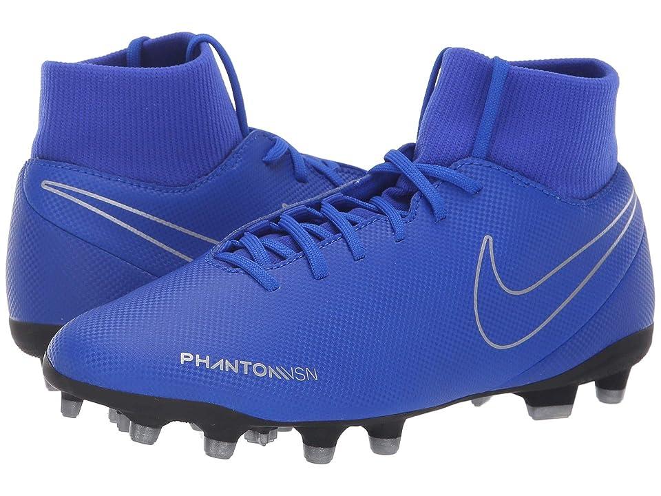 Nike Phantom VSN Club DF MG (Racer Blue/Racer Blue/Black) Men's Soccer Shoes