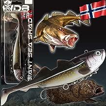 Angeln auf Dorsch D/änemark Behr Meereshaken Norwegen Haken Meeresangeln Naturk/öder Schleppfischen Angeln vom Boot