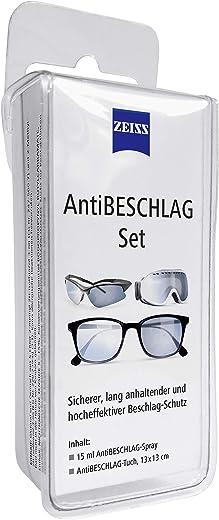 Zeiss AntiBeschlag-Spray mit 15ml Inhalt inklusive einem Brillen-Reinigungstuch für einen lang anhaltenden Beschlagschutz - auch bei hoher...