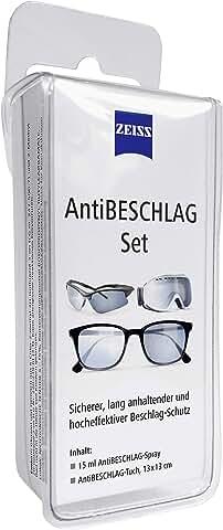 Antibeschlag Set - Brille vor beschalgen schützen