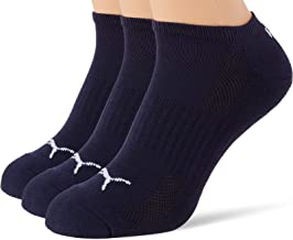 PUMA PUMA Unisex Cushioned Sneaker - Trainer Socks (3 pack) uniseks-volwassene Sokken
