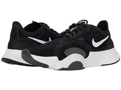 Nike SuperRep Go (White/Black/Dark Smoke Grey) Women