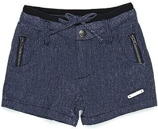 Sudo Kids Baby Boys Mini Oscar Linen Shorts, Blue