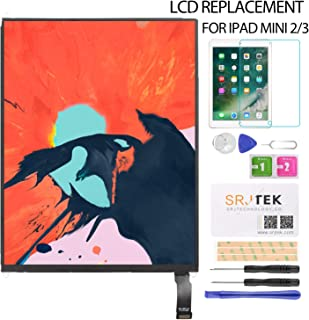 LCD Display Screen Replacement for iPad Mini 2 3 A1489 A1490 A1491 A1599 A1560 LCD Panel Repair Parts Kit,Include Tempered Glass,6 Month Warranty,7.9''