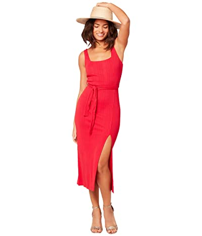L*Space Palm Beach Dress (Lipstick Red) Women