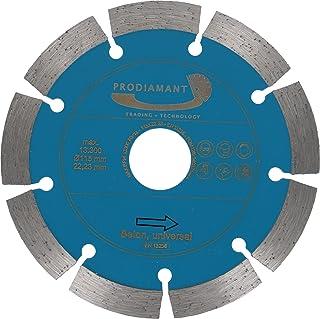 PRODIAMANT Diamantskiva betong 125 mm x 22,2 mm diamantskiva PDX83.014 125 mm lämplig vinkelslip, universell bindning för ...