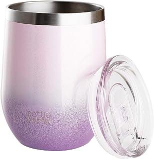 タンブラー ふた付き グラデーションカラー 真空断熱タンブラー 保冷保温 マグカップ おしゃれ 溢れにくい ステンレスタンブラー 360ml 魔法瓶 ビール コーヒーカップ bottlebottle