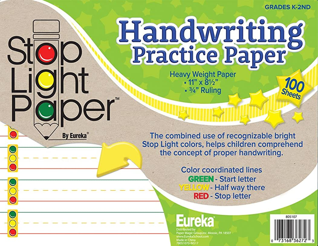 Eureka Back to School Handwriting Practice Paper for Students, 100CT