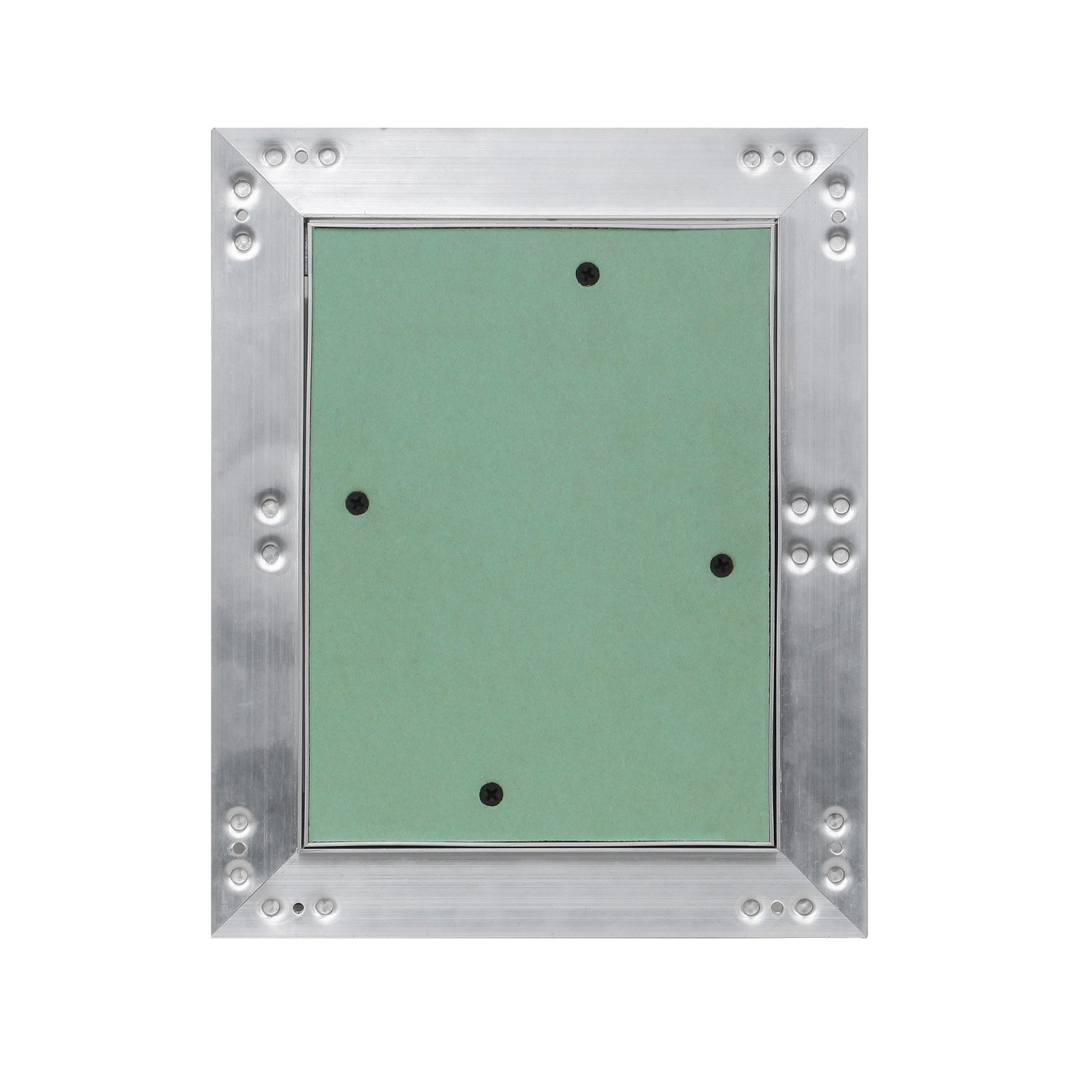 Puerta revisión Trampilla inspección marco aluminio 25x40cm Panel acceso Yeso 12,5 mm Techo Pared: Amazon.es: Oficina y papelería