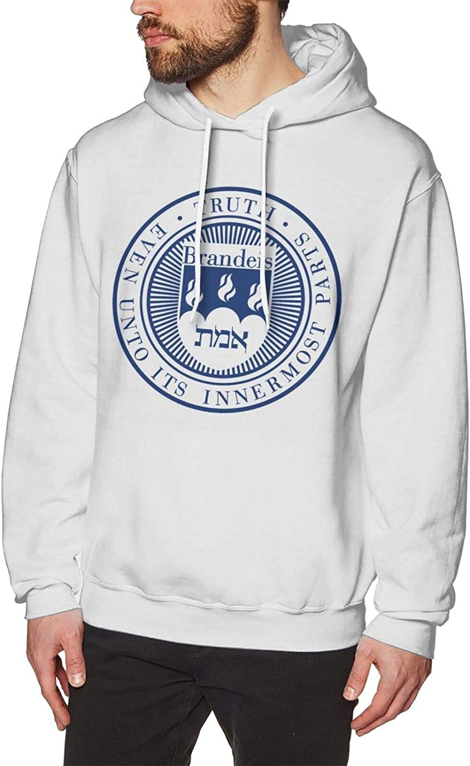 jawass Brandeis University Man's Hoodie Casual At the price Ranking TOP19 T Classic