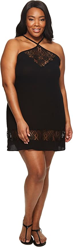 Plus Size Poetic Dress Cover-Up