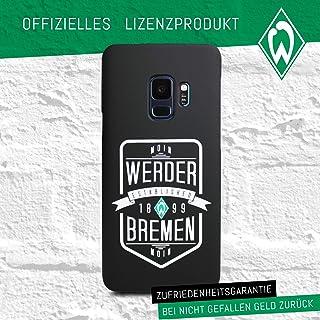 Werder Bremen - Wappen - Schutzhülle passend für das Samsung Galaxy S9 Black