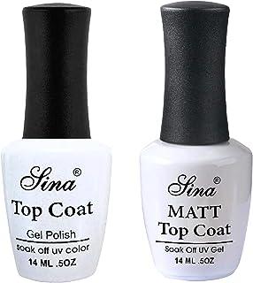 Duo Pack - Top Coat Sina + Matte Top Coat Sina