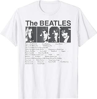Song List T-shirt