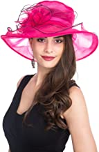 Best hot pink derby hats Reviews