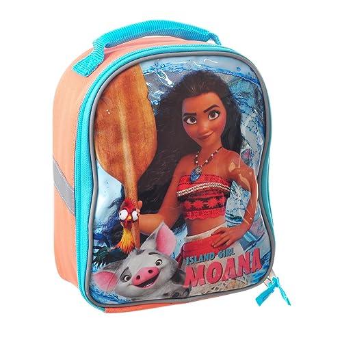 34ef2a9dc05 Moana Lunch Box Soft Kit Insulated Cooler Bag Disney Island Girl