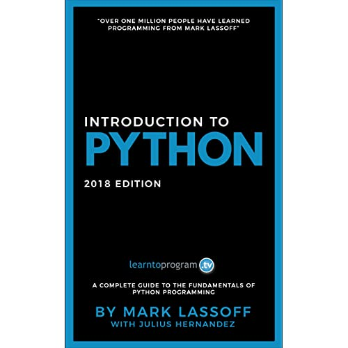 Introduction to Python: 2018 Edition