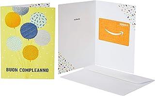 Buono Regalo Amazon.it - In un biglietto d'auguri Palloncini di compleanno