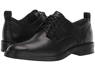 Sperry Gold Elite Plain Toe Oxford (Black) Men
