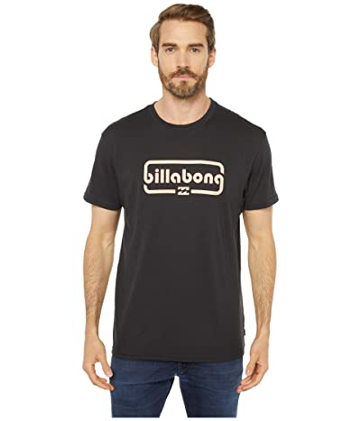 Billabong Repeat Short Sleeve T-Shirt (Black) Men