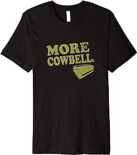Saturday Night Live More Cowbell Premium T-Shirt