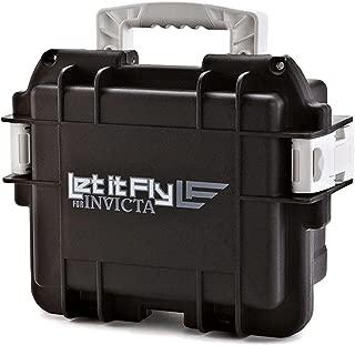 Invicta 3 Three-Slot Dive Collector Case Black/White Let it Fly