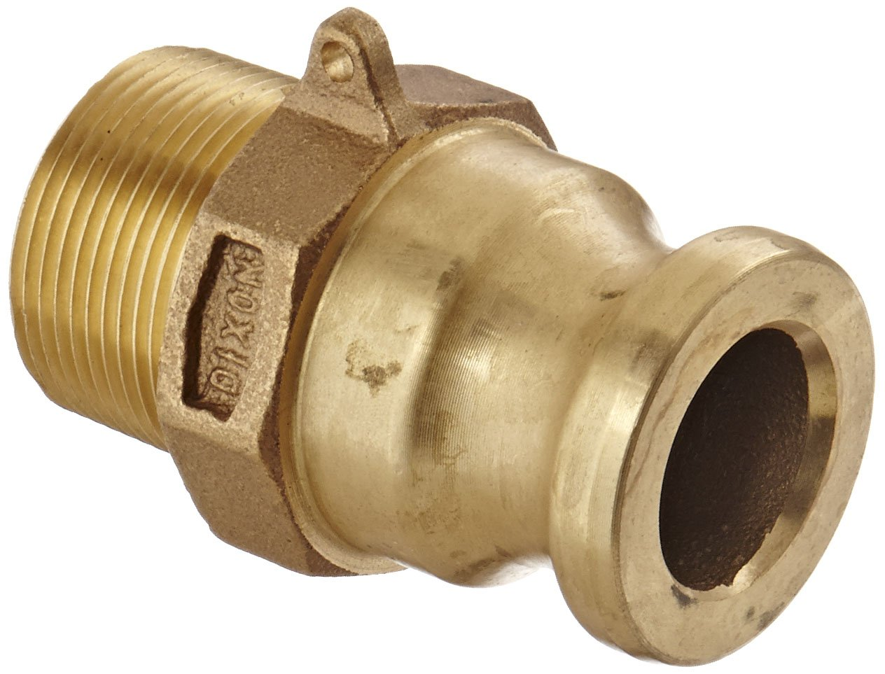 Dixon 125-F-BR Popular Max 58% OFF Brass Boss-Lock Type F and Cam Fittin Groove Hose