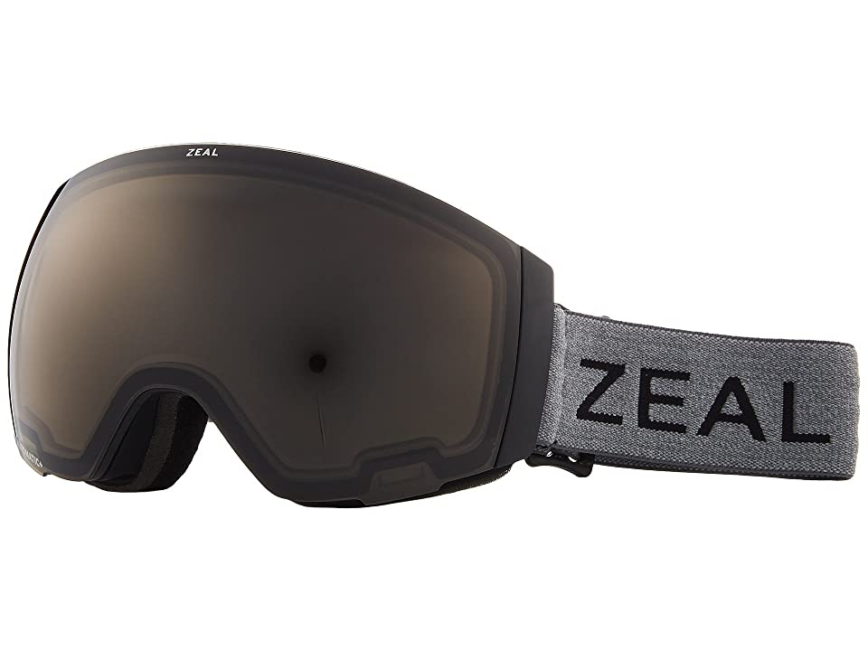 Zeal Optics Portal (Greybird w/ Automatic GB Lens + Sky Blue Mirror Lens) Snow Goggles