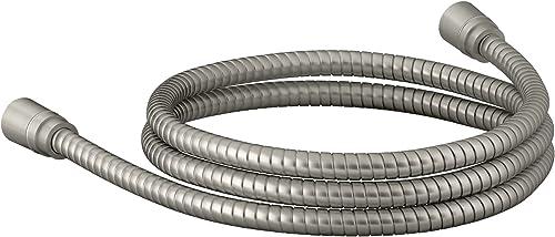 2021 KOHLER wholesale online K-45981-BN Awaken 72-Inch Ribbon Hose, Vibrant Brushed Nickel outlet sale