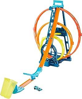 Hot Wheels GLC96 Track Builder Unlimited Looping set, Drievoudig, Meerkleurig, 50 cm - Standaard Verpakking
