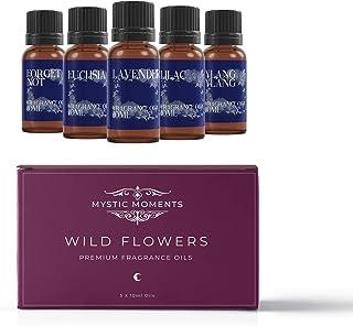 Mystic Moments Kit de Départ Huile parfumée - Fleurs Sauvages - 5 x 10ml - 100% Pure