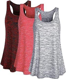 Mujer Camiseta Tirantes Verano Deporte de Gimnasio Camisa