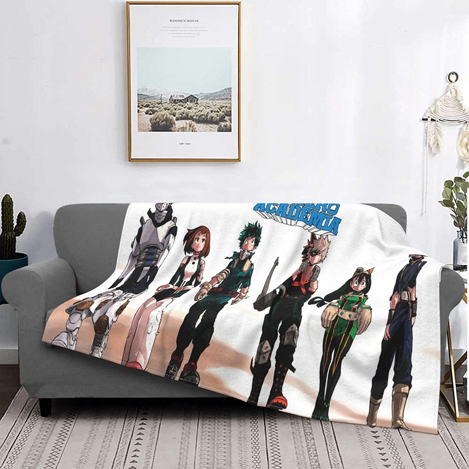 Anime Popular popular Blanket Super Ranking integrated 1st place Soft Flannel 3D Thermal Microfiber
