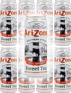 Arizona Tea Sweet Tea, 23 Fl Oz Tall Cans (Pack of 8, Total of 184 Oz)