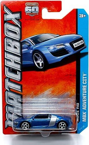 Audi R8 MBX ADVENTURE CITY  60. Anniversary Matchbox 2013 sic die-cast Vehicle    by Matchbox