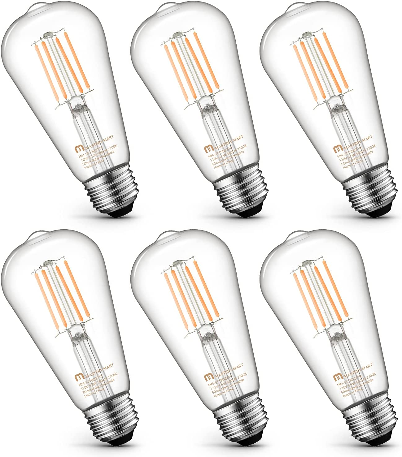 Mastery Mart Vintage Challenge the lowest Fort Worth Mall price of Japan ☆ LED Light Bulb Edison Antique Glass ST21 S