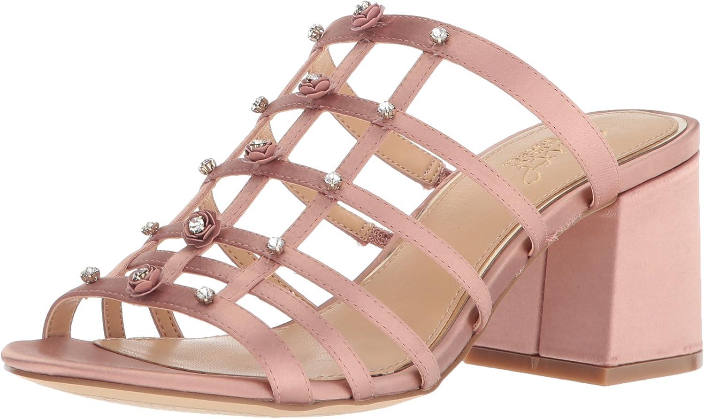 Badgley Mischka Womens Thorne Slide Sandal