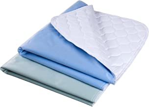 """Waterproof Reusable Incontinence Bed Pads Washable Incontinence Underpads 8 Cups Absorbency, 2 Pack Non-Slip Mattress Protector for Adults, Kids and Pets(28""""X 36"""" inch)"""