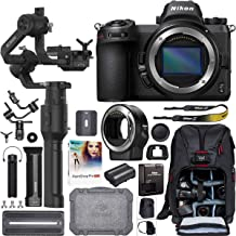 Nikon Z6 Mirrorless Full-Frame 4K Camera Body 1595 Filmmaker's Kit with DJI Ronin-S Essentials Kit 3-Axis Handheld Gimbal Stabilizer Bundle + Mount Adapter FTZ + Deco Photo Backpack Case + Software