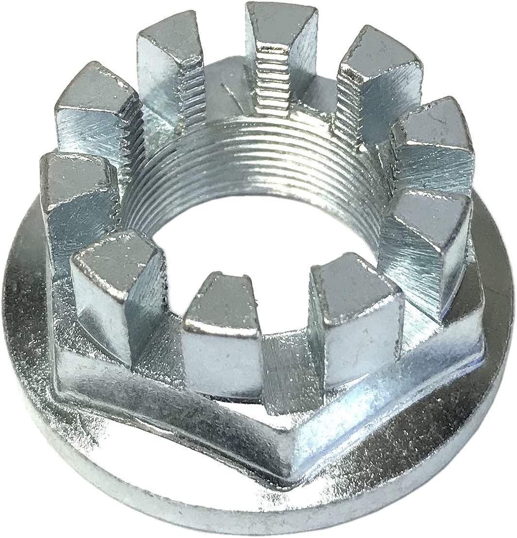 CRU Rear Axle Selling Hub Recommendation Castel Crown Nut 1.0 x Ho with Compatible 20mm